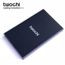 New Style 2 5 inch Twochi USB2 0 HDD 1TB Slim Metal External hard drive Portable