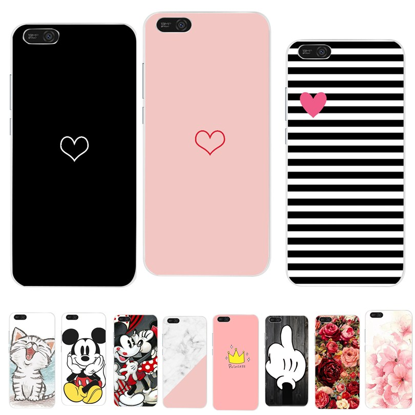 Cover For <font><b>Huawei</b></font> Y5 2018 <font><b>Case</b></font> Luxury Heart Print Coque For <font><b>Huawei</b></font> P Smart <font><b>P10</b></font> P20 P8 P9 Lite 2017 Y6 2018 Mate 10 20 Lite <font><b>Cases</b></font> image