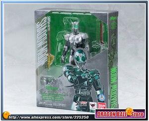 "Image 2 - Japan Kamen ""Masked Rider Black"" Original BANDAI Tamashii Nations SHF/ S.H.Figuarts Toy Action Figure   Shadow Moon V2.0"