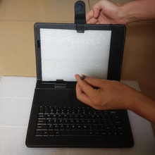 10.1 inch micro USB keyboard cases cover for tablet pc