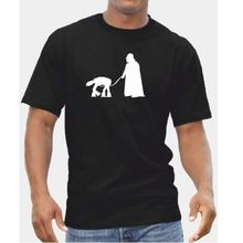Star Wars Droid Dog TShirt - AT-AT Darth Vader Pet Banksy Inspired Gift Idea Free shipping free shipping 10pcs at 223