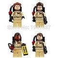 Xinh 108-111 80 unids/lote ghostbusters figuras al por mayor bloques de construcción ladrillos juguetes para los niños decool compatible