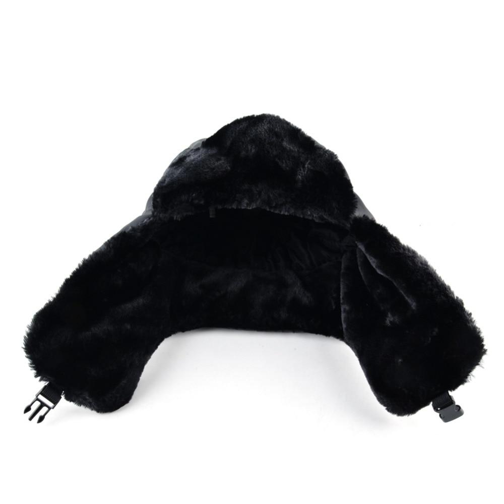 9beb0ceb964 2017 Ushanka russian faux fur cap men winter hats ear flaps snow bomber hat  for women warm troope caps gorro balaclava-in Bomber Hats from Apparel ...