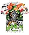 Doom Футболка злодея Доктора Дума Фантастическая Четверка 3d Мультфильм Женщины Мужчины Мода Одежда Лето Стиль футболки Наряды Топы