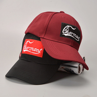 Hot Brand Cap Solid Color Letter Baseball Cap Fitted Hat Casual Outdoor Sports Solid Color Snapback