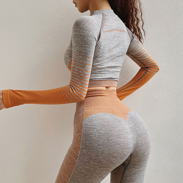 2 Pcs  Yoga Set Workout Clothes