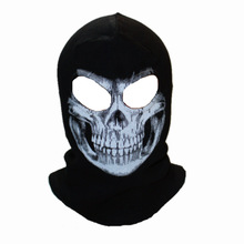 Winter Skull Mask Balaclava Beanies Hats Men Ghost Skul Full Face Ski Mask Sport Training Hood Beanie Gorros Hombre Casquette