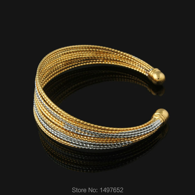 New Arrival Ethiopian Gold Bangles18K Gold/Silver Plated Bangles/Bracelets  Jewelry Women Men African//Kenya//Middle East Style