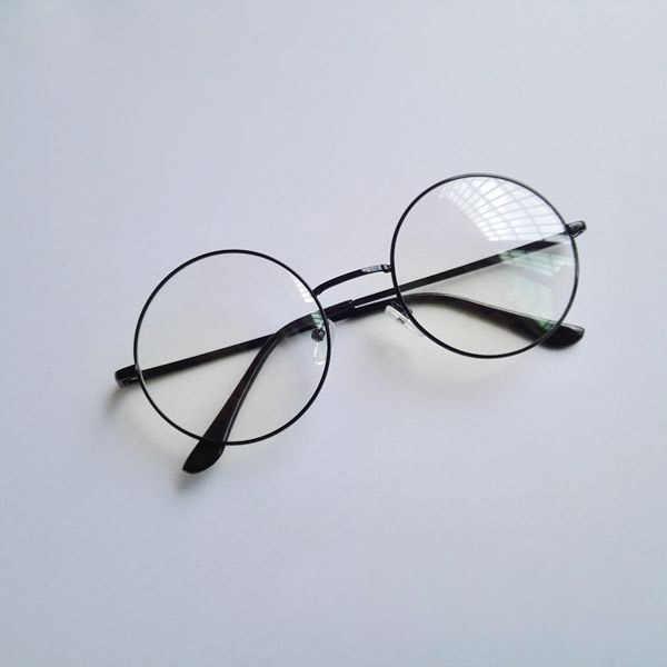 53f604928c ... Danganronpa Touko Fukawa Glasses Black Frame Cosplay Glasses Eyewear  Cosplay Accessories ...