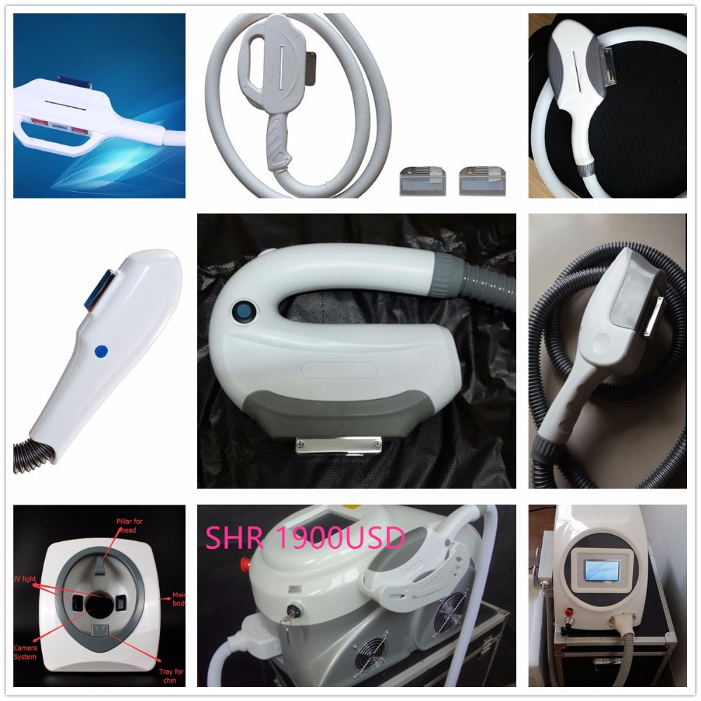 ipl shr opt e light compatible  hair removal and skin rejuvenation machine parts handpiece with xenon lamp inside popular selling design opt shr ipl machine handle for sale with xenon lamp inside