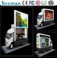 Leemanled Mobile Video led Signs digital advertisement led display Outdoor led truck screen for sale