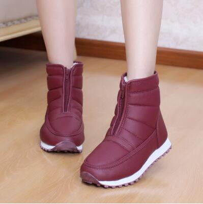 Aliexpress.com : Buy 2015 Winter snow boots women's medium leg ...