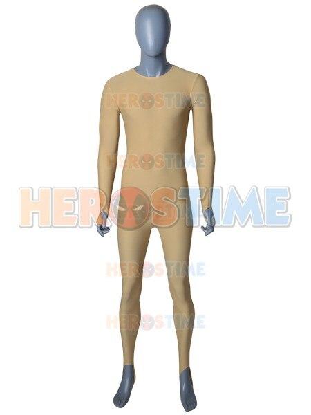 New Upgrade High Quality Lycra Spandex Fabric Flesh Color Zentai Undersuit