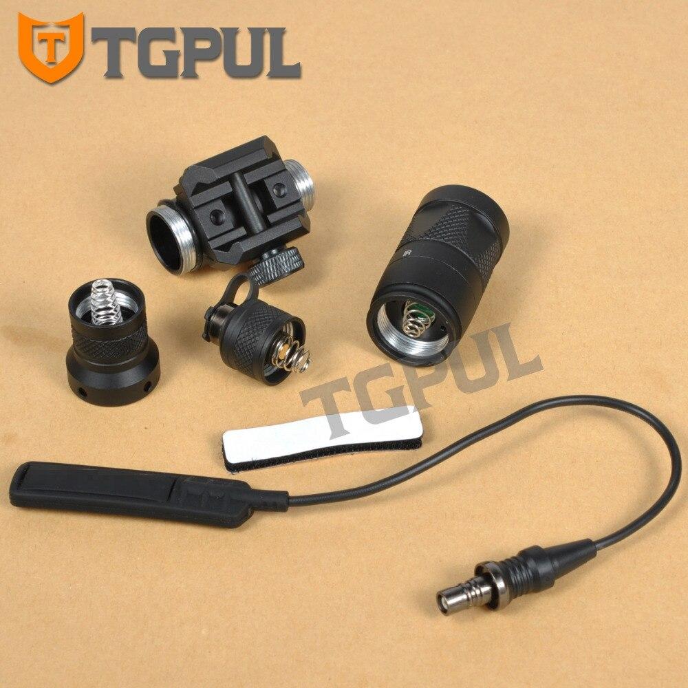 tgpul m300 m300v ir luz tatico lanterna 04