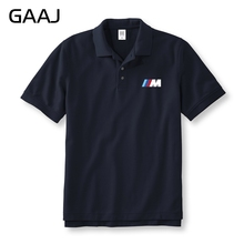 New M Series Car Brand Polo Shirts Men & Women Unisex Shirts Plus Size Printed Letter Man Polos Shirt Male Brand Clothing