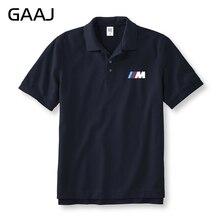 Nieuwe M Serie Auto Merk Polo Shirts Mannen & Vrouwen Unisex Shirts Plus Size Gedrukt Brief Man Polo Overhemd Mannelijke Merk Kleding