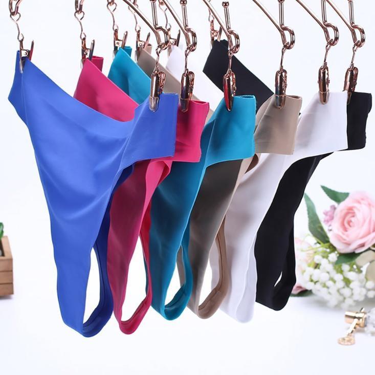Hot Silk Sexy Women Thongs g string Seamless   Panties   Female Underwear Tanga   Panties   Low-Rise Lingerie   Panty   Intimates#es