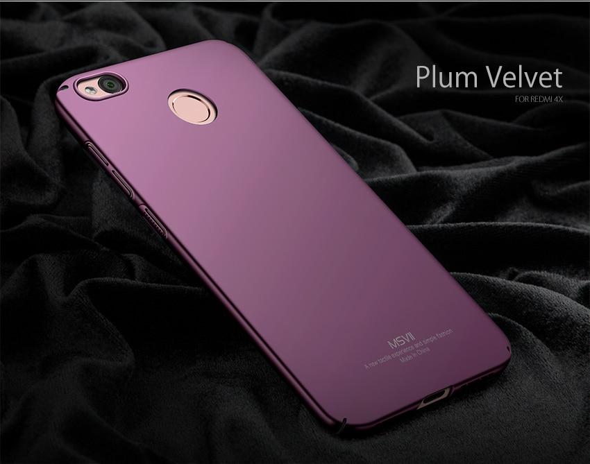 Case For Xiaomi Redmi 4X Case PC Hard Protection Back Cover Coque For Xiomi Redmi 4X Pro Global Version Phone Case Mi 4 X