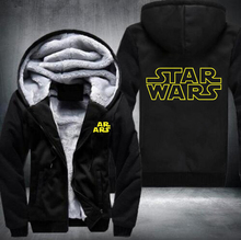 New Star Wars  Winter Fleece Mens Sweatshirts Free Shipping USA Size fast ship 5-10 days arrive