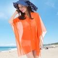 Verão O Novo Rashguard Pérola fecho Sólida Chiffon Protetor Solar Xale Ms seaside Praia Protetor Solar toalha Lenços MT16