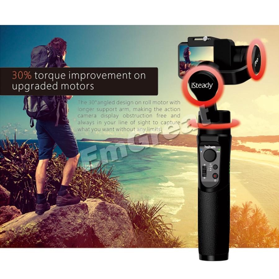 Hohem iSteady Pro 2 3 Axis Handheld Gimbal Stabilizer voor GoPro Hero 7/6/5/4 /3 voor Sony RX0 voor DJI Osmo Actie & SJCAM & YI - 2