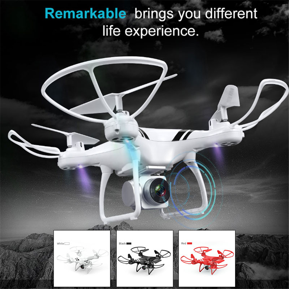 2.4GHz 4CH 20min Quadcopter HD 0.3/5.0MP FPV Camera Drone APP Remote Speed Adjustable Altitude Hold One Key Take Off Helicopter