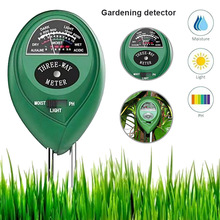 цена на Newly 3 in 1 Moisture Light PH Meter Plant Flowers Garden Soil Analyzer Tester Tool  DAG-ship