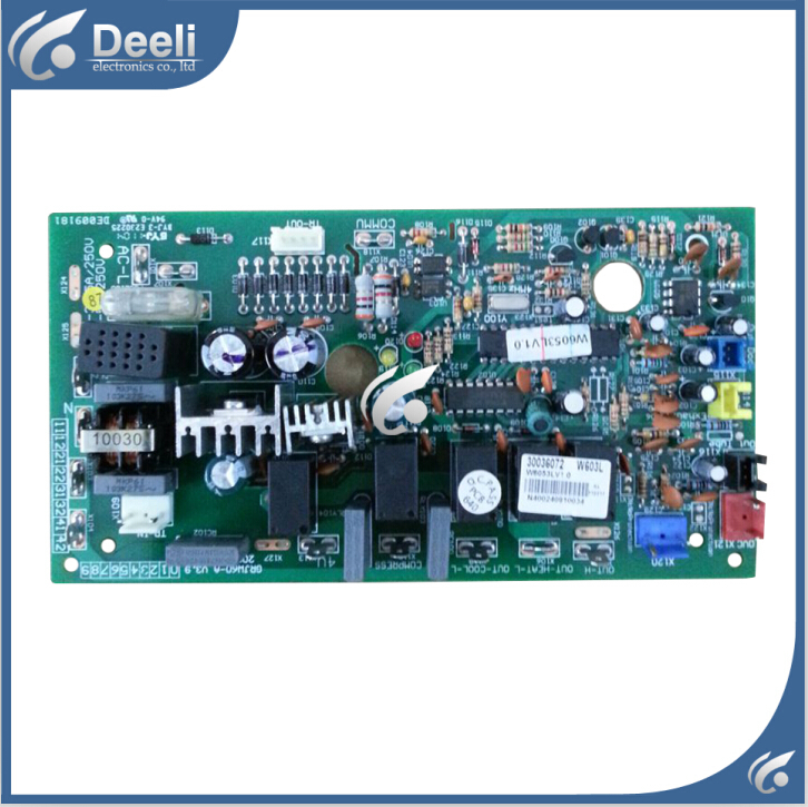 95% new good working for air conditioner pc board circuit board 30036072 motherboard W603L GRJW60-A on sale 95% new for haier refrigerator computer board circuit board bcd 198k 0064000619 driver board good working