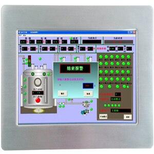 Image 2 - Безвентиляторный 10,1 дюймовый все в одном ПК машина промышленная панель для сенсорного экрана ПК ЖК дисплей для ATM & POS системы