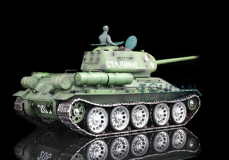 HengLong 1/16 Soviet T-34 RC Tank Metal Track Sprockets Airsoft Sound Smoke 3909 1pc enameled wire stripping machine varnished wire stripper enameled copper wire stripper xc 0312