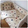 Personalize o fundamento do bebê cama kit em torno de cama em torno de lençóis colcha de algodão do bebê do bebê 100% algodão travesseiro