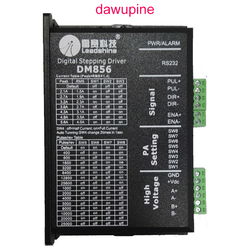 dawupine Stepper Motor Controller Leadshine DM856 2-phase 57 86 Digital Stepper Motor Driver 20-80 Vdc 1A to 5.6A NEMA23 NEMA34
