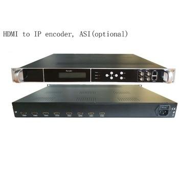 high integration 1080P Multi-Channel encoder, HDMI to IP encoder, HDMI input and IP/ASI output, ASI encoder, IP encoder
