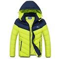 Winter Jacket Men Thicken Long Warm Coats Famous Brand Clothing With Hood Down Jacket Outerwear Parka Jacket Men DJ003
