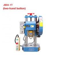 JB04-1T, профессиональный небольшой Настольный Электрический дыропробивной пресс, ручная работа, пробивная машина 220 V/380 V 370W 1T (280x280mm)