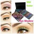Paleta de maquiagem 252 cores de Sombra Paleta de sombras de maquiagem Dos Olhos sombra compõem paleta da sombra de olho 252 fosco sombra para olho