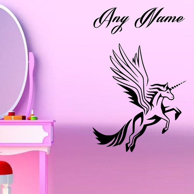 Aliexpresscom Buy Personalised Name Unicorn Pattern Wall - Vinyl stickers designaliexpresscombuy eyes new design vinyl wall stickers eye wall