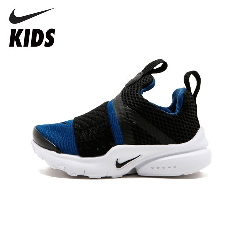 NIKE Kids PRESTO EXTREME NIKE Kids Presto Extreme (TD) Breathable Sneaker Black Little Kids Running Shoes 870019-403