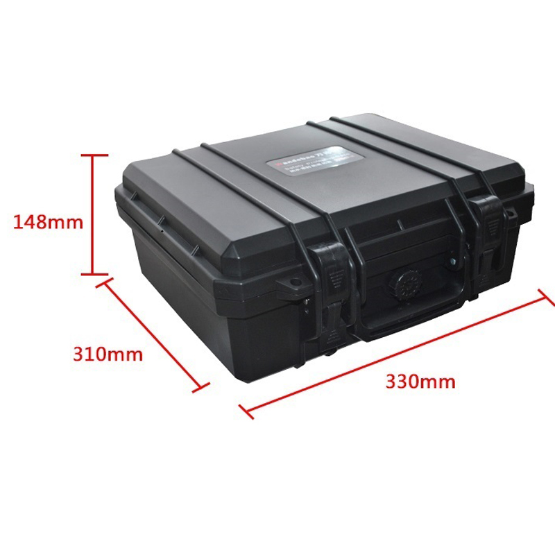 Tool case toolbox suitcase Impact resistant sealed waterproof protective case 330*310*148mm Instrument box with pre-cut foam JP2 waterproof tool hard case 371 258 152mm dustproof anti corrossion protective camera protective case instrument box mj 5018