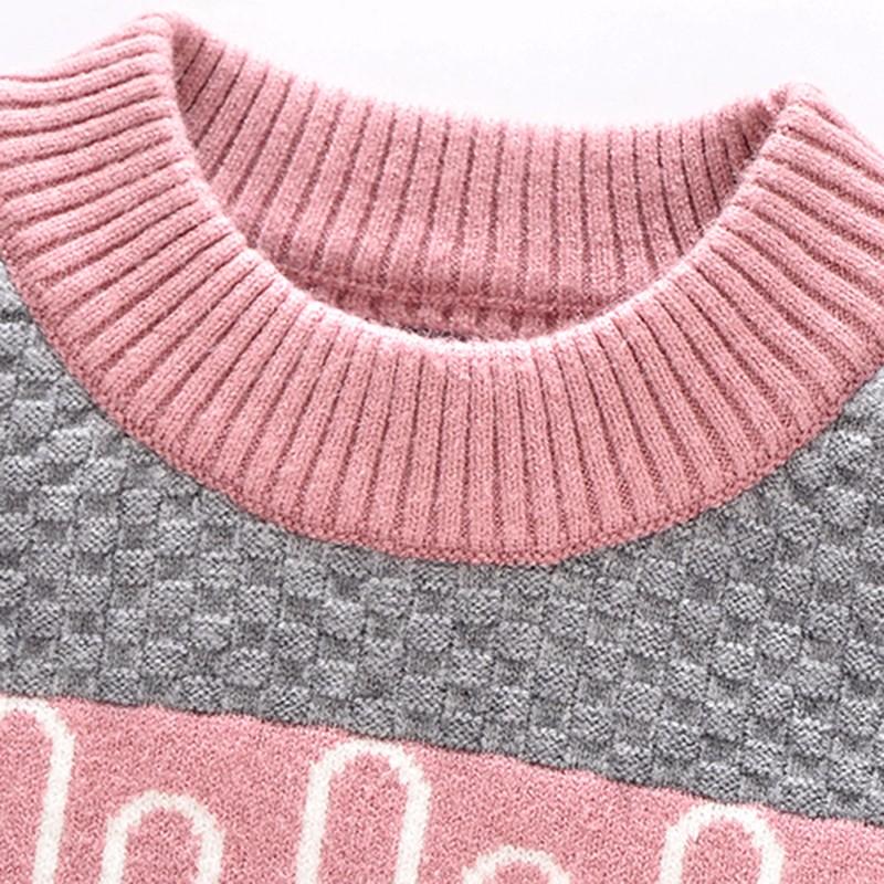 Spring Autumn Winter Comfortable Boy&Girl Sweater Angora Pullover Sweater O-Neck Collar Clothes Children Clothing Free Shipping (6)