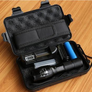 LED Flashlight Tactical Flash Light Kit