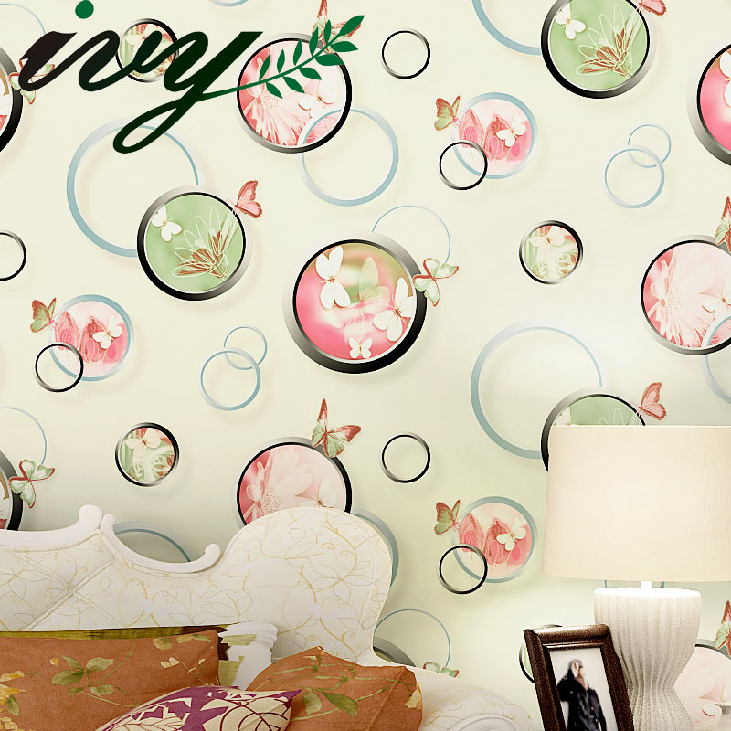 IVY MORDEN Printed Bubble Roll Wallpaper Home Decor Non Woven Wall Paper for Walls Large Custom Murals Living Room TV Background free shipping borges suspended large scale non woven paper art wallpaper murals custom size