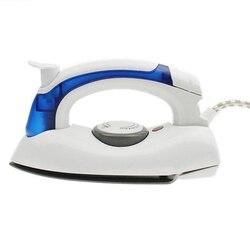 Mini portatif électrique de fer à vapeur pour des vêtements avec le Flatiron tenu dans la main de plaque de base de téflon de 3 vitesses pour le voyage à la maison