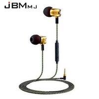 Original JBMMJ S800 In Ear Headphones High Quality Metal With Microphone In Ear Earphone HiFi Headset