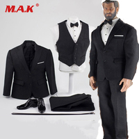 Toy Center CEN M04 1/6 Soldier Model British Gentleman Suit with shirt belt and leather shoes F M34 BODY Action Figure DOLL