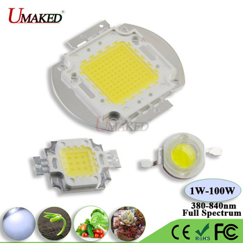 High Power Grow light LED Chip 1W 3W 5W 10W 20W 30W 50W 100 Full ...