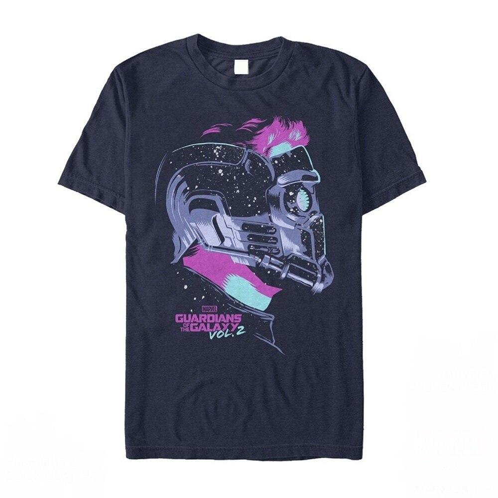 2018 top Guardians Of Galaxy Vol. 2 Star-Lord Stars Mens Graphic T Shirt