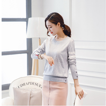 2017 New Fashion Cashmere sweater women Cashmere Shirt O-Neck Pullovers Womens Long Sleeves Female sweaters Turtleneck Sweater