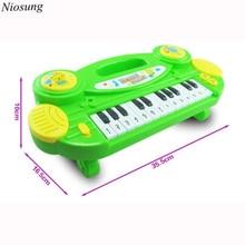 Niosung Neue Baby Elektronische Orgel Musikinstrument Geburtstagsgeschenk Kind Weisheit Deveop Geschenk