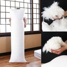 Длинная Подушка для тела Dakimakura, 150x50 см, внутренняя вставка, аниме подушка для тела, Белая Подушка, внутренняя Подушка для домашнего использования
